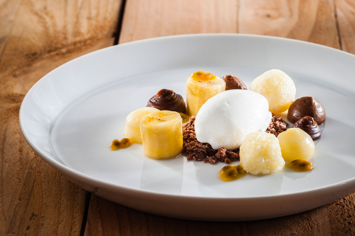 Chocoladecombinatie met limoen en banaan vtm koken - Chocolade en witte badkamer ...