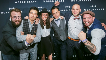 Wereldprestatie van de Belg Dries Botty op de finale van World Class Bartender of the Year 2016