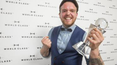 Dries Botty wint Belgische finale Diageo Reserve World Class 2016