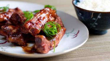 Sticky ribbetjes