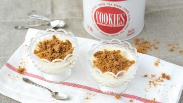 Pudding met speculaas