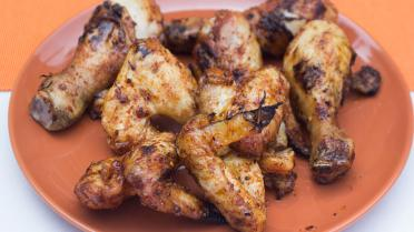 Gemarineerde chicken wings 'sweet & hot'