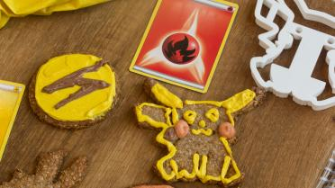 Pokemon Parmezaan cookies