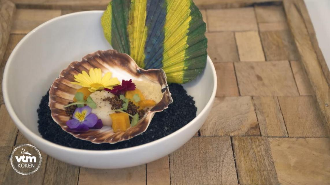 Video: Coquille Monet met pompoen en lavendel van Table'O