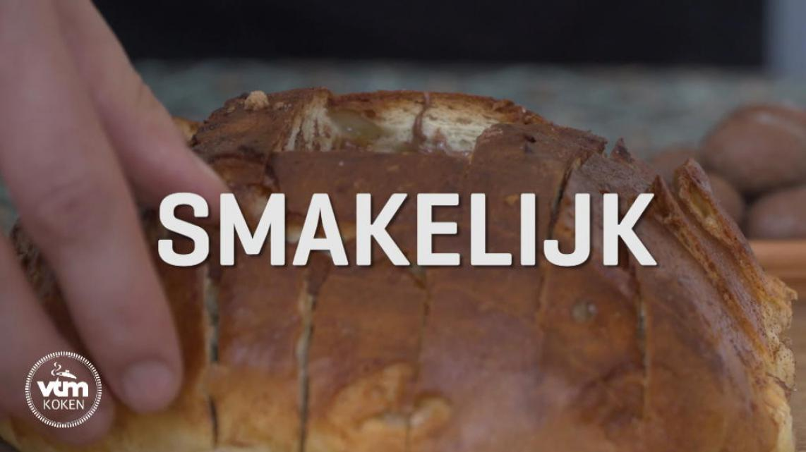 Video: Chocolade pull apart suikerbrood
